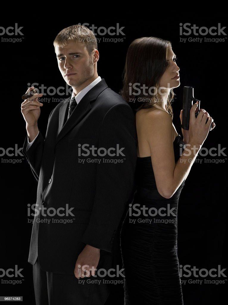 Power Couple royalty-free stock photo