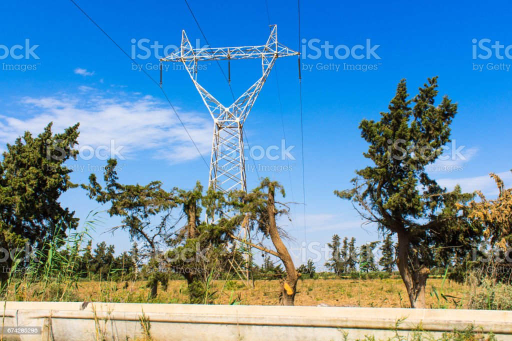 power electricity stock photo