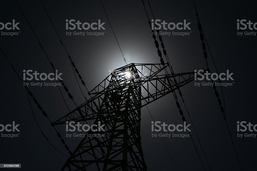 power failure Concept stock photo