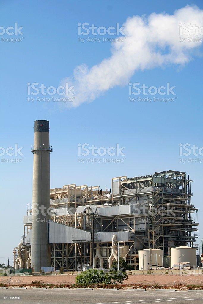 Power Generating Station royalty-free stock photo