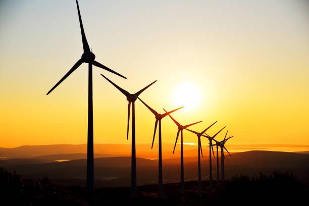 Kraft generieren Windturbinen – Foto