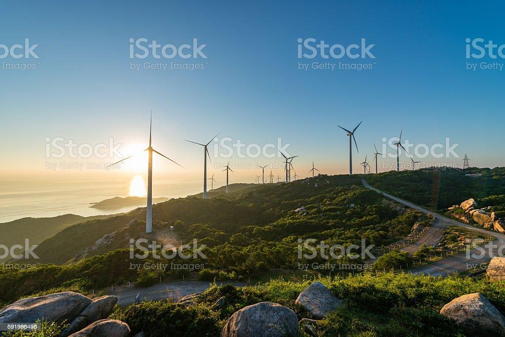 Power generation stock photo