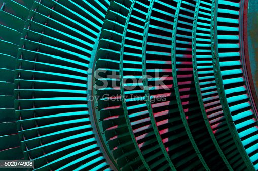 Abstract photo of details of the industrial equipment close up.