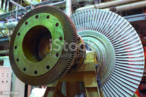 Details of the industrial equipment of power plant