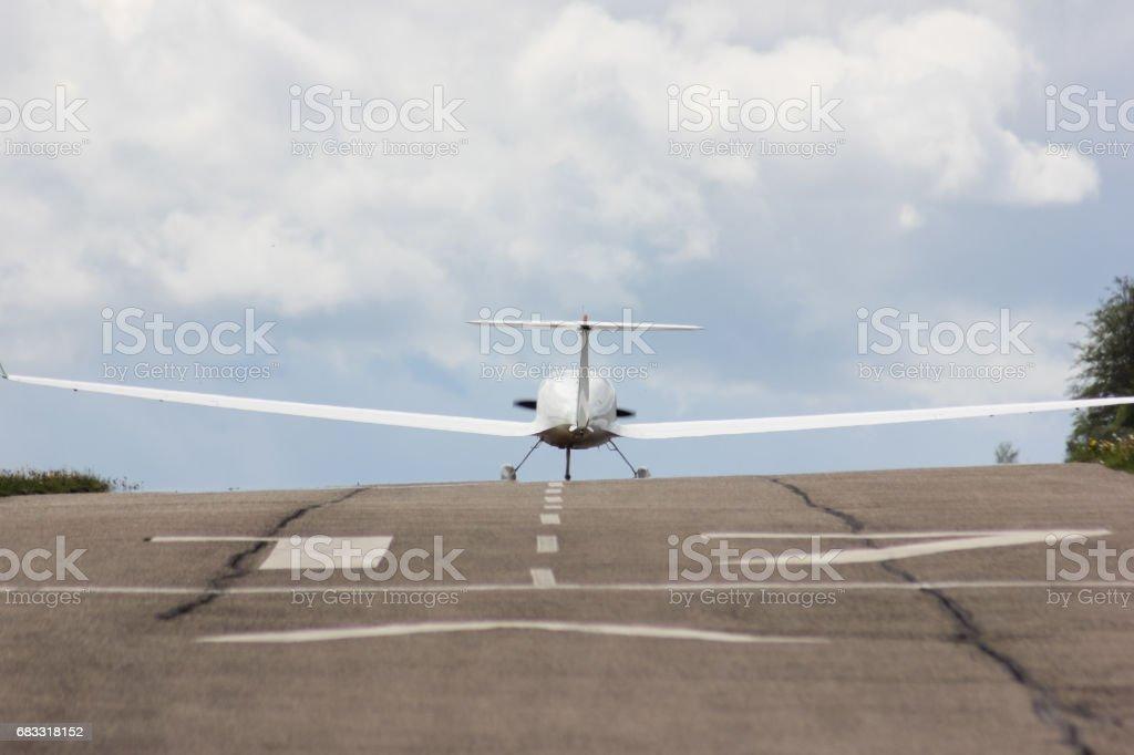 電源グライダー u ターンを開始するには ロイヤリティフリーストックフォト
