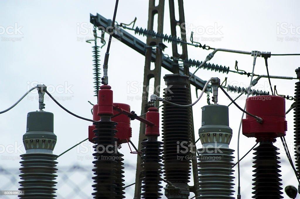 Power Grid stock photo