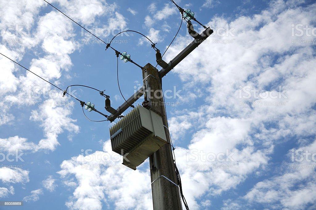 Power grid royalty free stockfoto
