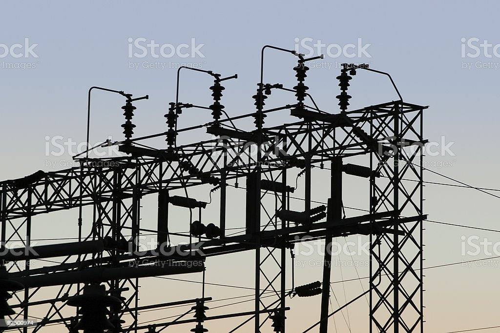 Power Grid #1 royalty-free stock photo