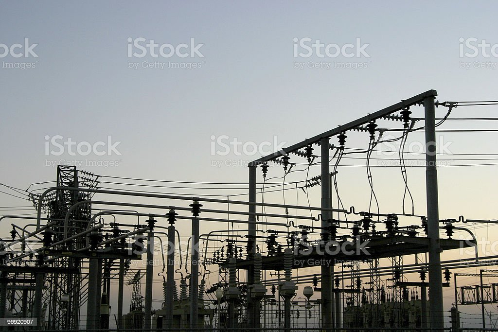 Power Grid #4 royalty-free stock photo