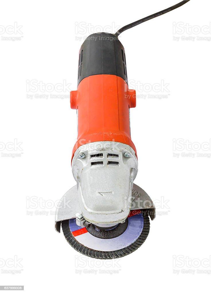 Power grinder on white background - foto de stock