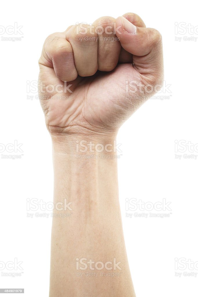 Power Hand stock photo