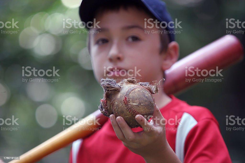 Power hitter stock photo