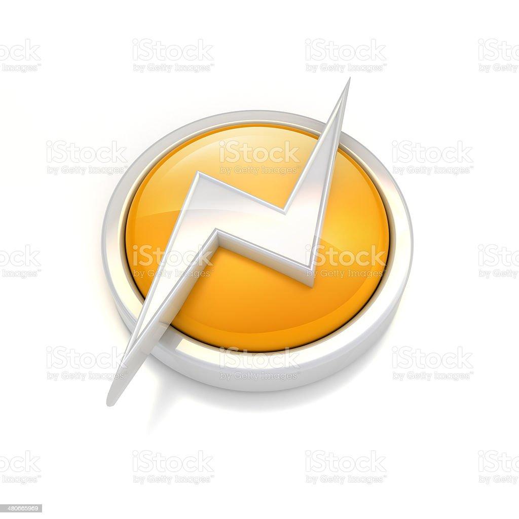 power icon royalty-free stock photo