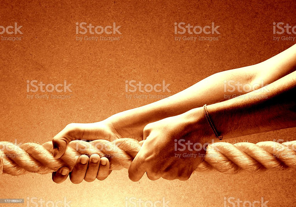 Power in the hand - 1 royalty-free stock photo