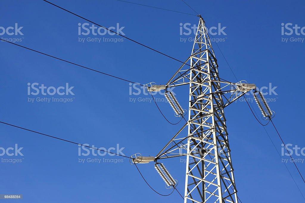 Power line Lizenzfreies stock-foto