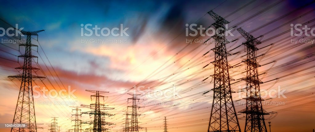 power lines – Foto
