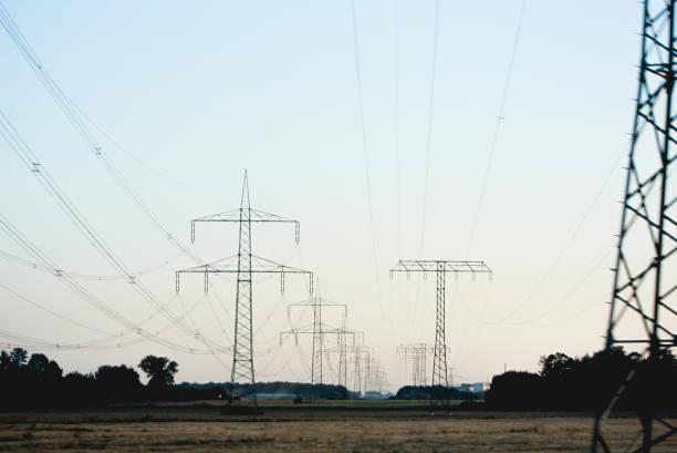 Stromleitungen – Foto
