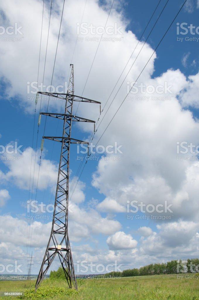 Elektrische leidingen - Royalty-free Apparatuur Stockfoto