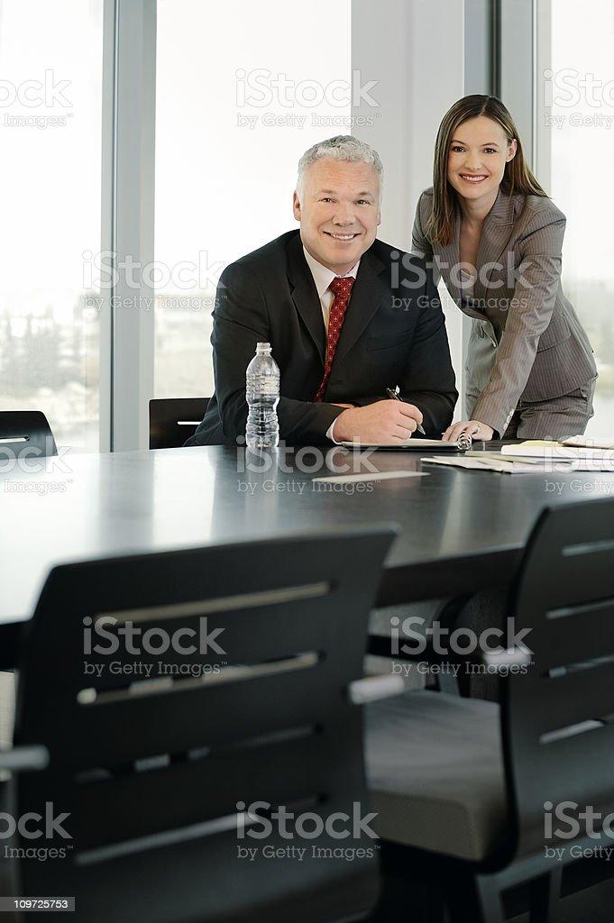 power meeting royalty-free stock photo