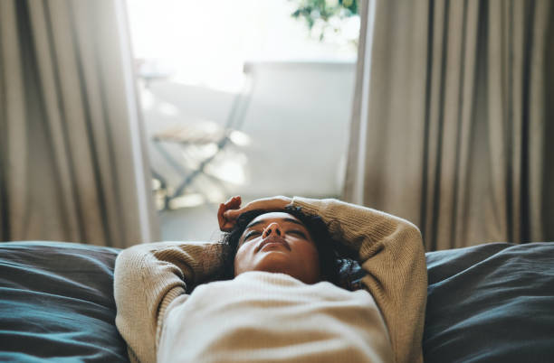 A power nap is just what I need stock photo
