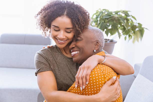 Power of a Hug stock photo