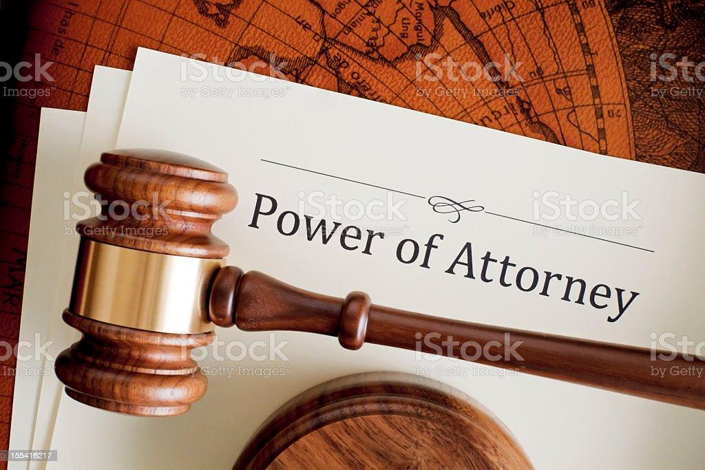 Power of Attorney – Foto