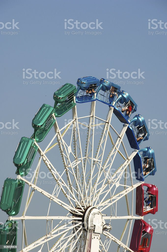 power of chairoplane - Octoberfest stock photo