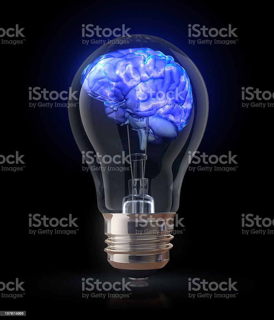 power of mind royalty-free stock photo
