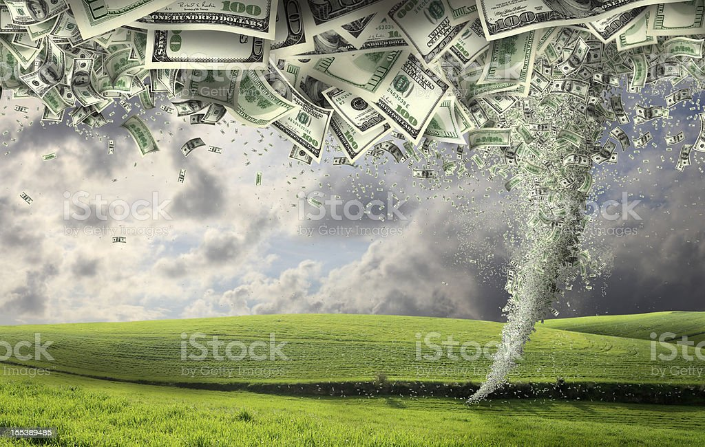 power of money stock photo