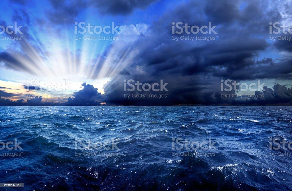 power of nature stock photo