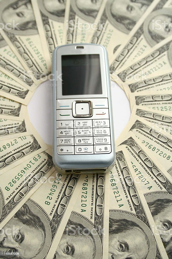 Power of telecommunications stock photo