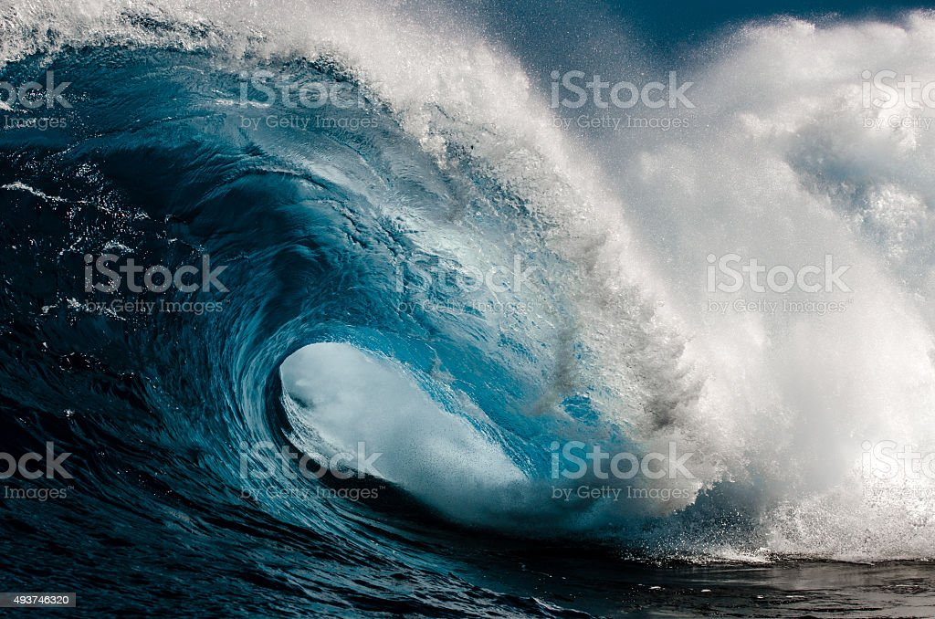 Power of the Sea stock photo