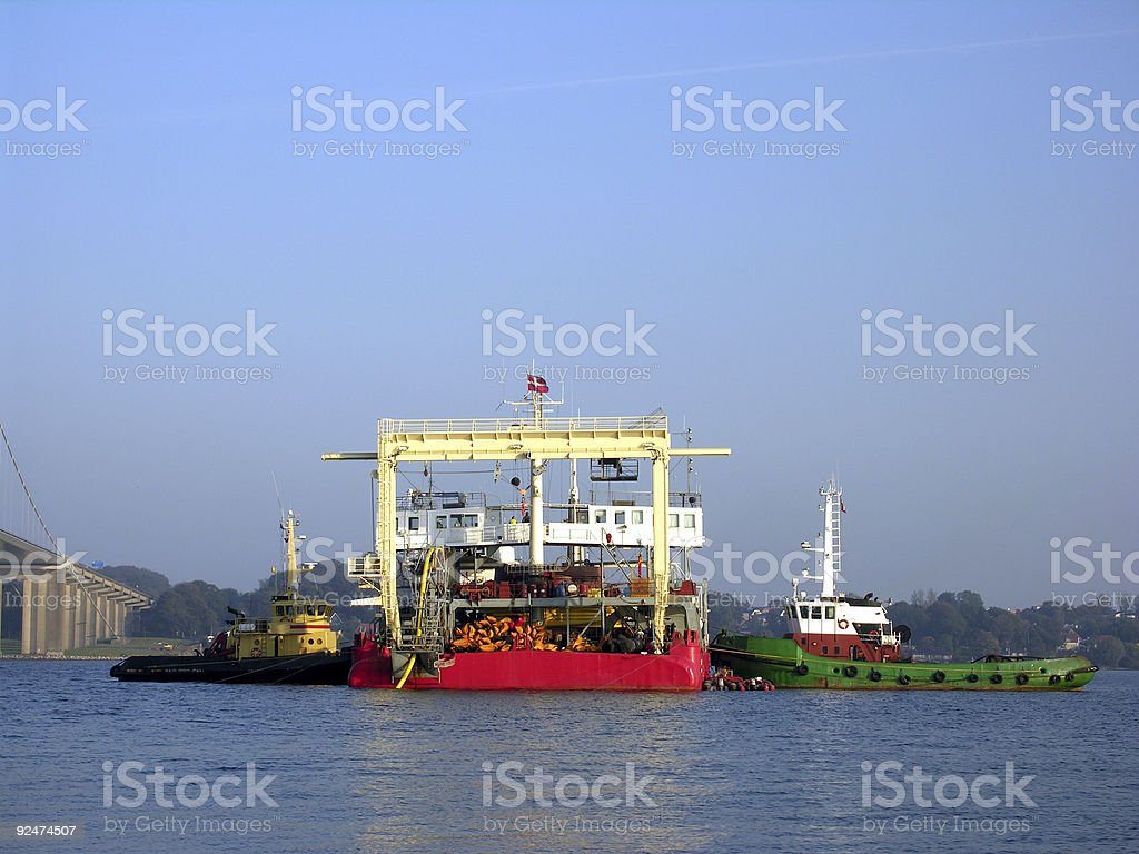 Power on water royalty-free stock photo