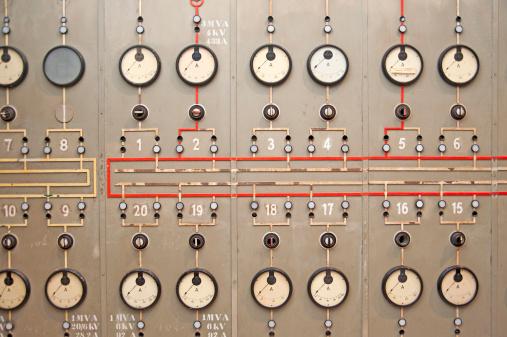 power plant console panel
