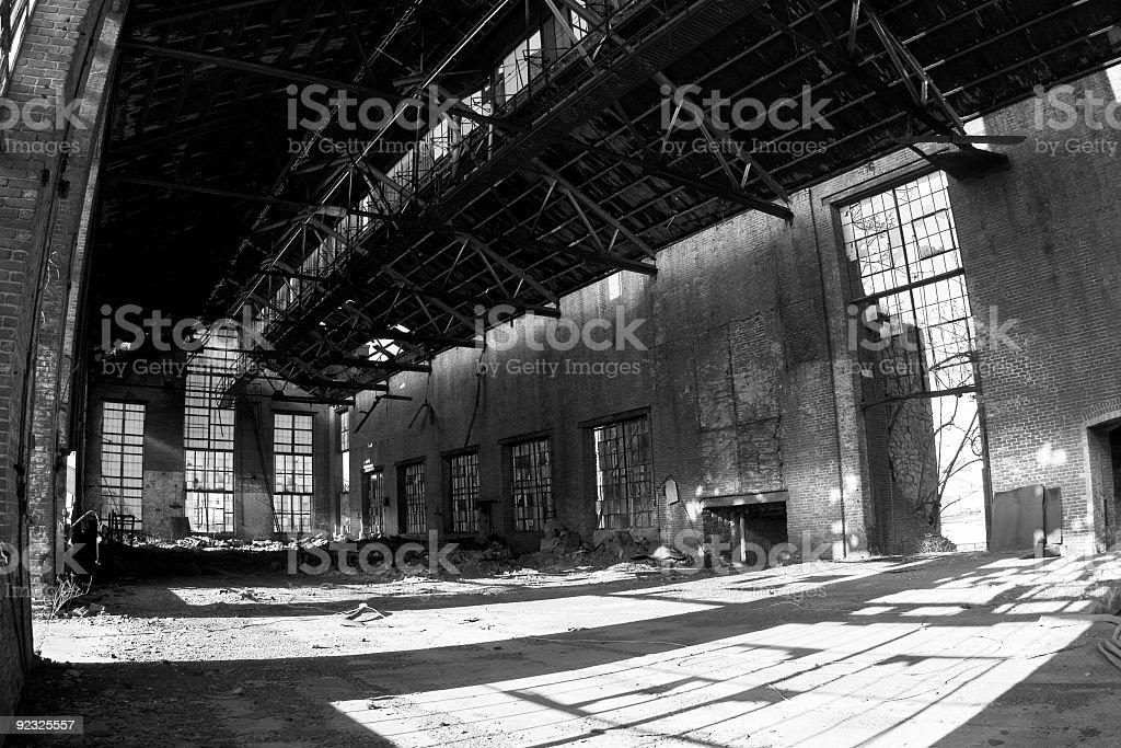 power plant interior royalty-free stock photo