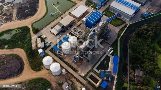 Power plant - Municipal Solid Waste Treatment Plant / RDF (Refuse Derived Fuel)