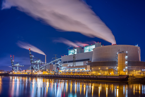 A big coal fired power plant.