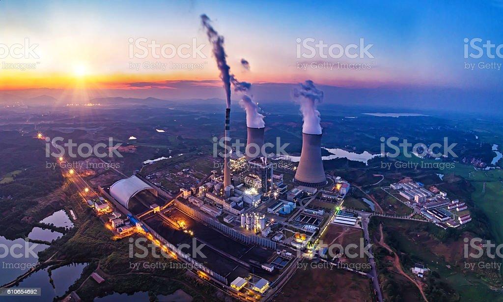 Planta de energía  - foto de stock