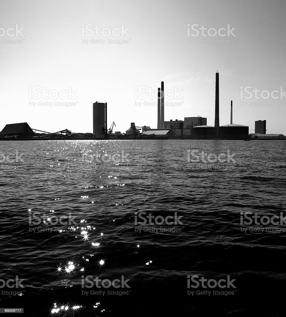 Power Plant royalty free stockfoto