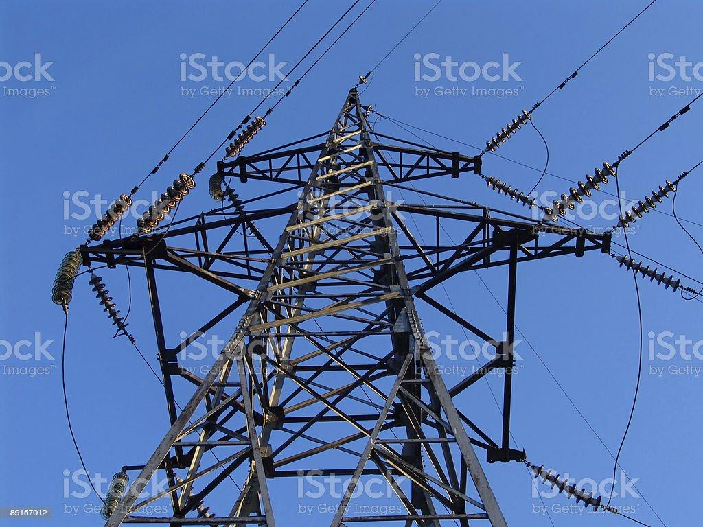 Power pole 2 royalty-free stock photo