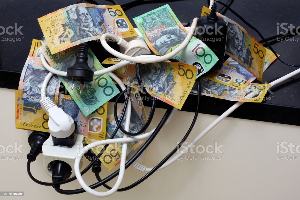 Power Prices stock photo