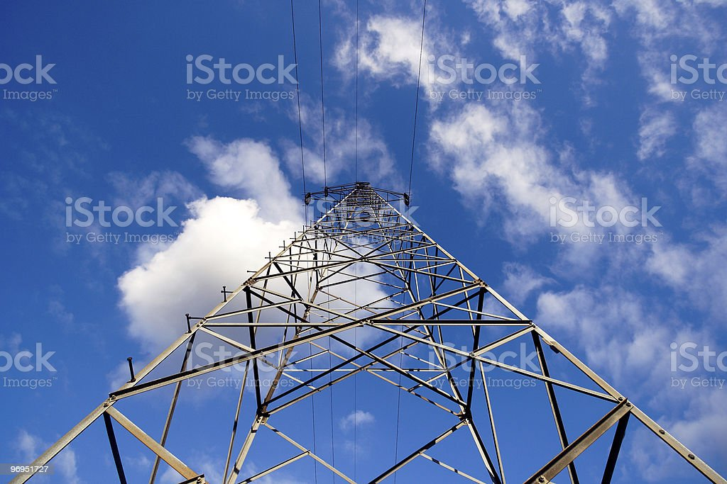 Power Pylon royalty-free stock photo