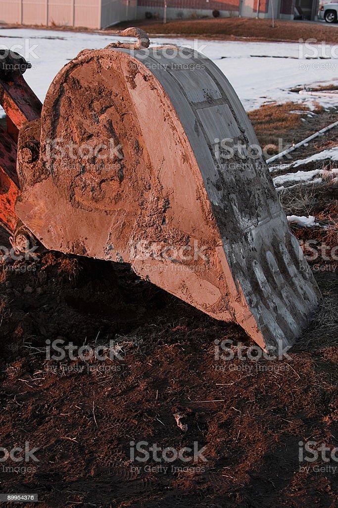Power Shovel Bucket 1 stock photo