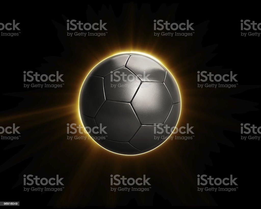 Power Soccer Football Flare royalty-free stock photo
