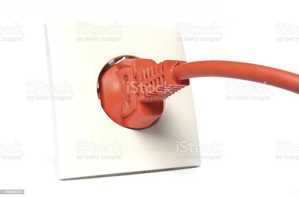 Power socket royalty-free stock photo