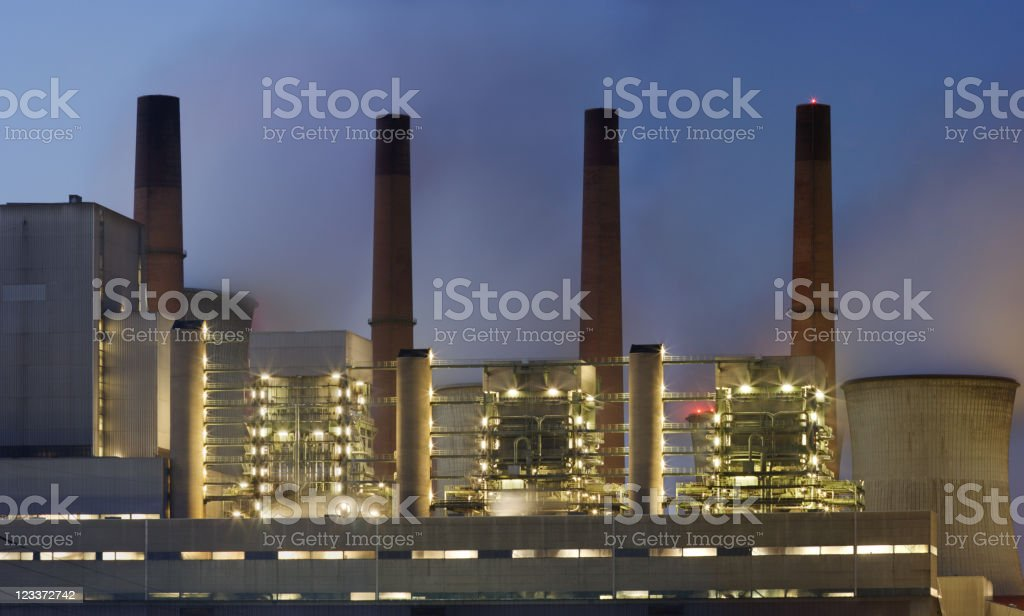 Power Station Detail royalty-free stock photo