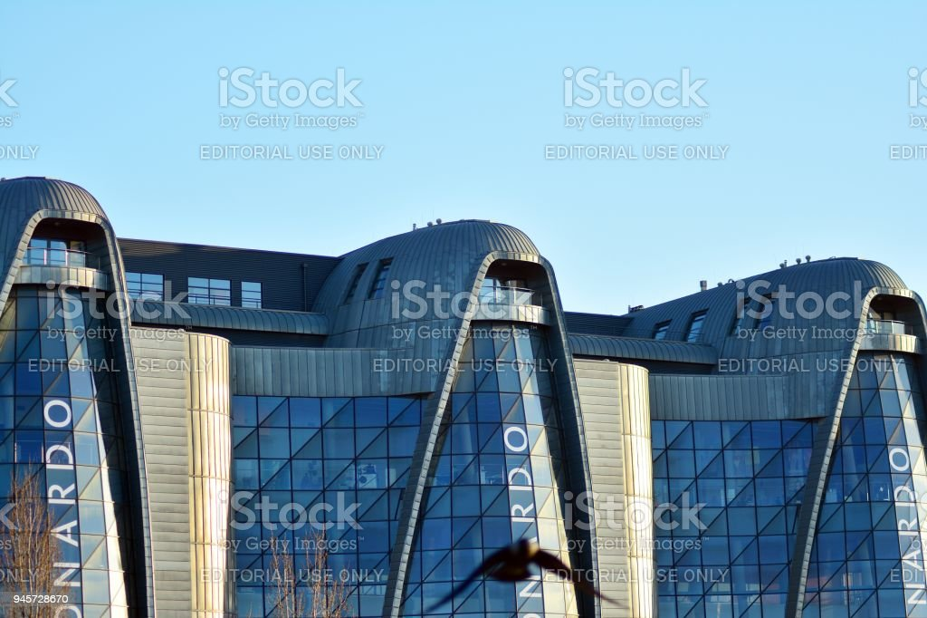 EC1 power station in Lodz - buildings after the revitalization stock photo