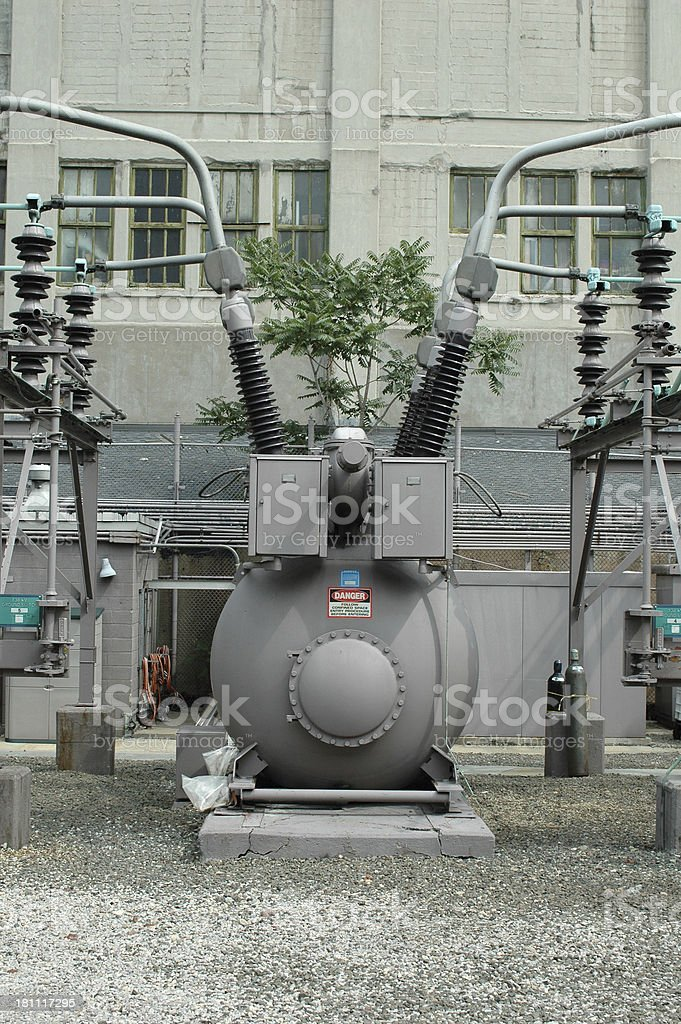 Power estación de - foto de stock