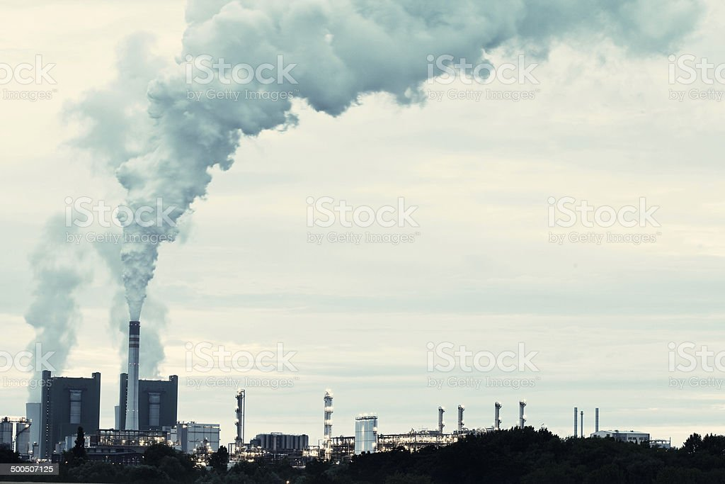 Power Station royalty-free stock photo