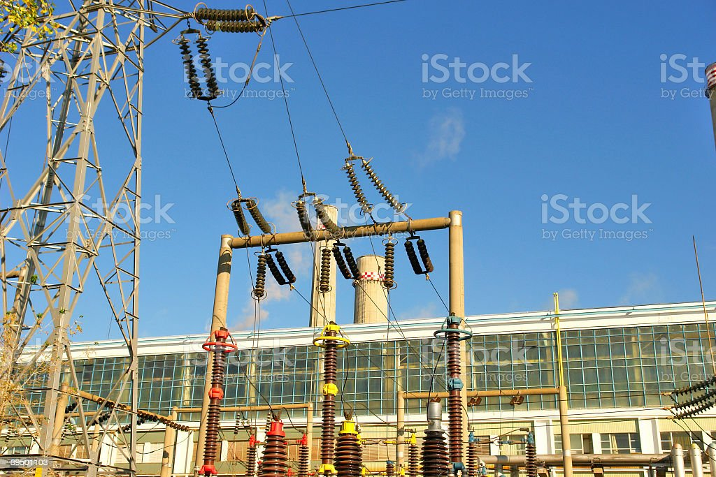 power station royalty free stockfoto